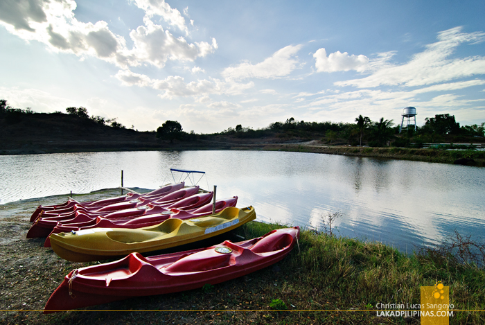 Kayaks at the Tarlac Recreational Park