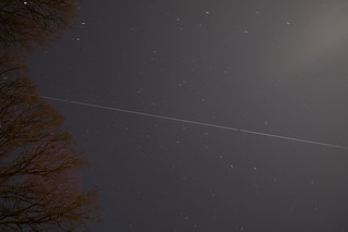 Pass of the International Space Station