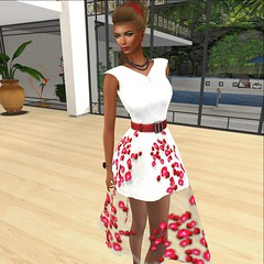 More Than ever @ Designer Showcase- Hepburn Rose Dress
