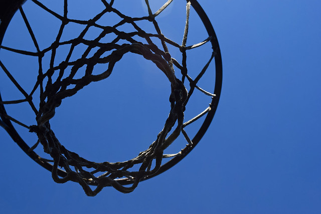The Hoop Up There