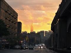 Sunset after the rainstorm