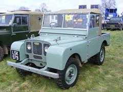Land Rover Series 1 88 inch Utility, LSK979, (1949) , Rushden Historical Cavalcade, 01.05.2016