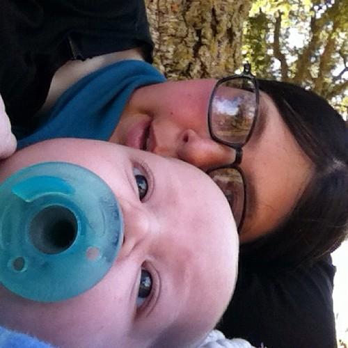 Binkin' at the park