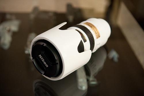 White Nikkor 70-200-2