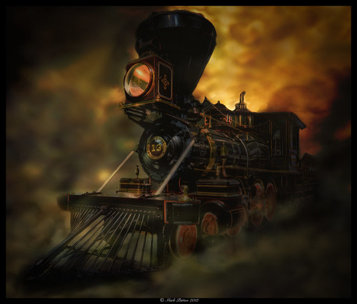 california art museum train nikon antique engine steam locomotive sacramento hdr d7000 ©markpatton