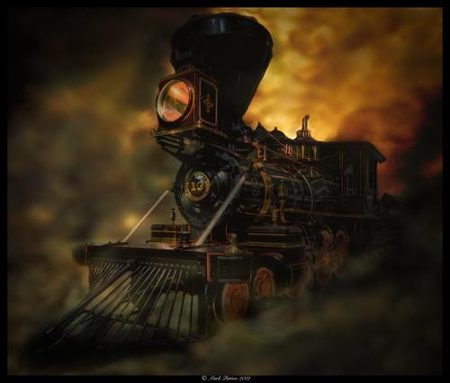 california art museum train nikon antique engine steam locomotive sacramento hdr d7000 ©markpatton