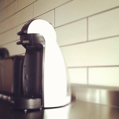 Nescafe Penguin Coffee Machine by ʘ ‿ ʘ synthetic happiness Ò ‿ Ó
