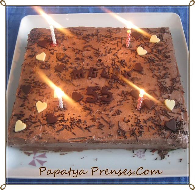kremalı kek pasta-