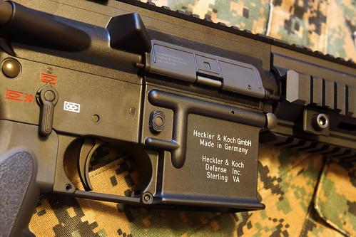 VFC HK416D, receiver