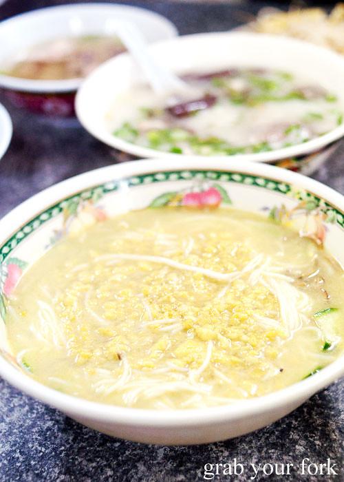 prahoc cambodian gouramy yellow fish noodle soup battambang cabramatta