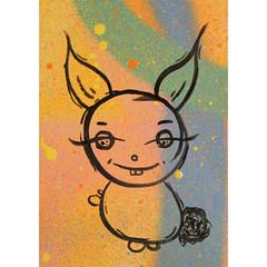 ACEO - little odd bunny