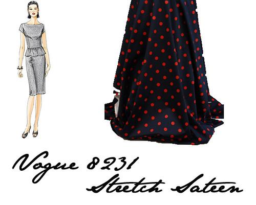 Vogue 8231 (oop)