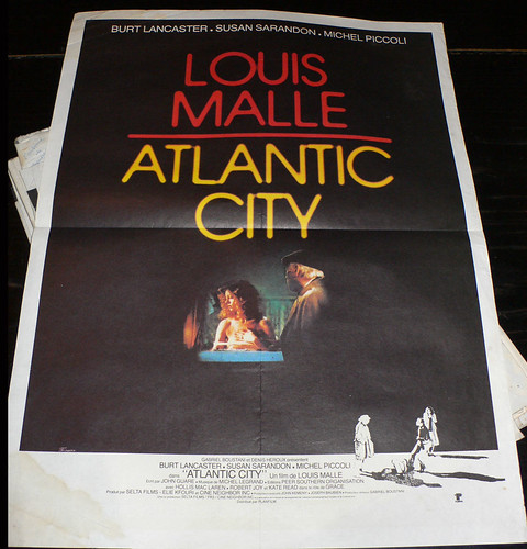 affiche louis malle atlantic city by angelarune