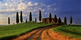 Tuscan Villa Val d'Orcia