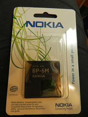 New BP-6M battery for Nokia 6233