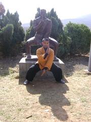 Tue, 15/03/2011 - 07:38 - SHAOLIN INDIA SHIFU KANISHKA IN QI XING CHUAN POSTURE WWW.SHAOLININDIA.COM Shaolin Kung Fu India