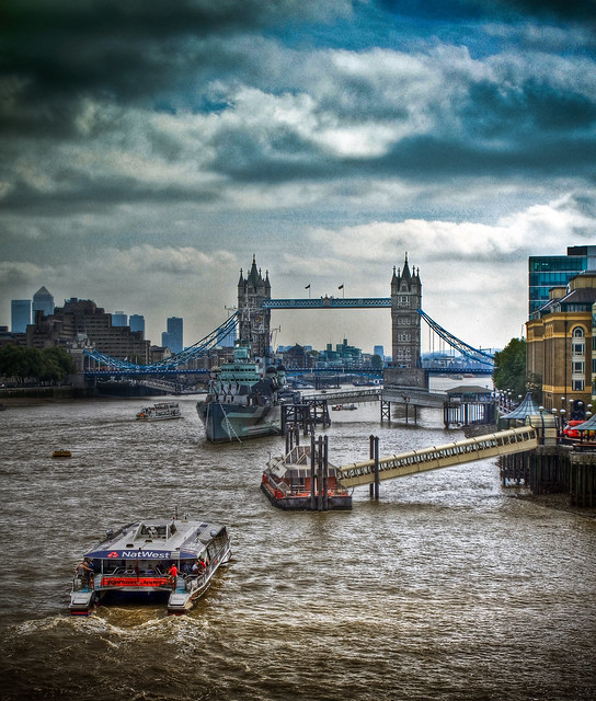 0279 - England, London, Tower Bridge HDR