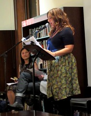 Libbi Gorr at Raunchy Romance Storytime (Customs House Library, 7/3/2012)