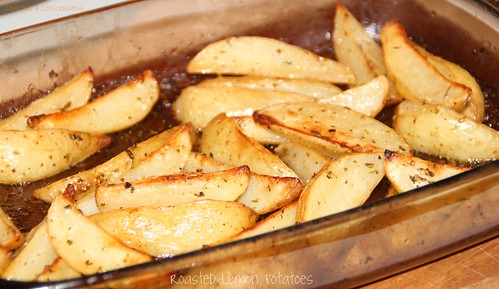 Roasted Lemon Potatoes 1