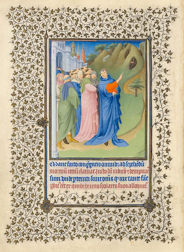 007-Diocres, Bruno y los CartujosBelles Heures of Jean de France duc de Berry-Folio 95v - ©The Metropolitan Museum of Art