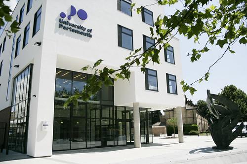 University of Portsmouth Denis Sciama building