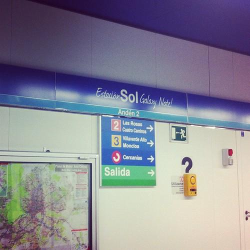 Estacion Sol Galaxy Note?