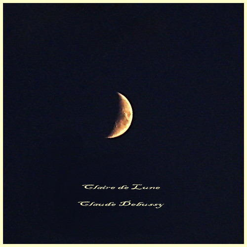 Moonshine - composer Claude Debussy - 150 years anniversary by kontinova2