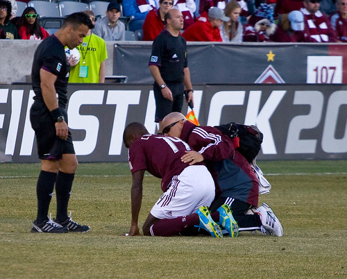 Colorado Rapids Omar Cummings by Corbin Elliott Photography, Denver Photography