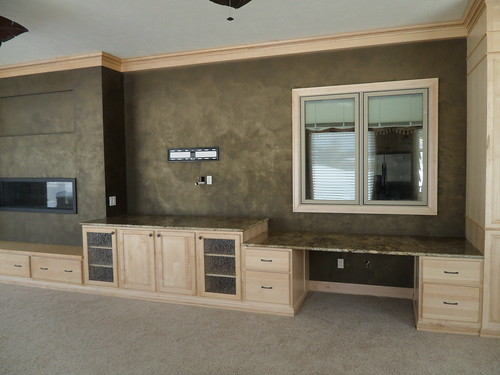 Family Room Accent Wall - Faux Finishes - Bella Faux Finishes - Sioux Falls, South Dakota