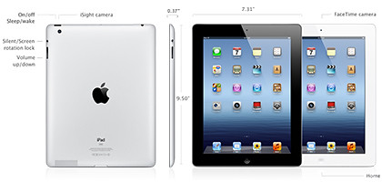 The new iPad will be hitting the shelves in select countries on 16 March 2012.