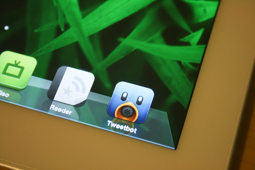 Tweetbot icon on The New iPad