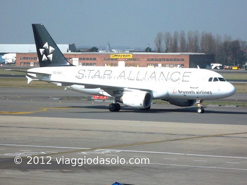 A319 Brussels Airlines Star Alliance