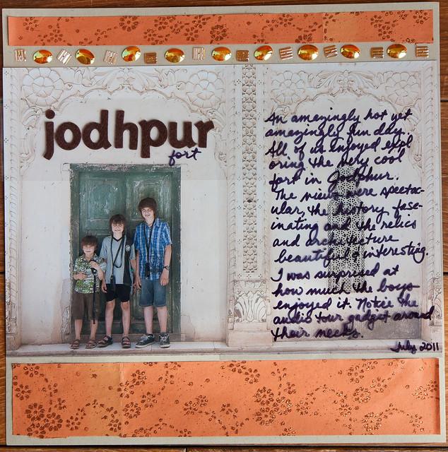 LOAD212 - Day 8: Jodhpur Fort