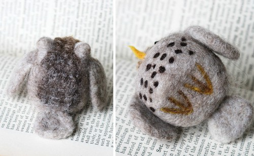 "Needle Felted ""Snowy Owl"""