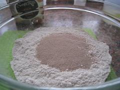 Pan pyrex-harina levadura
