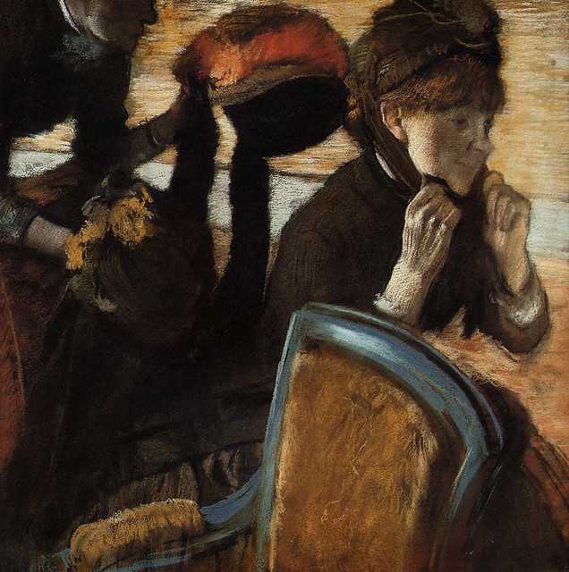 [ D ] Edgar Degas - At the Milliner I