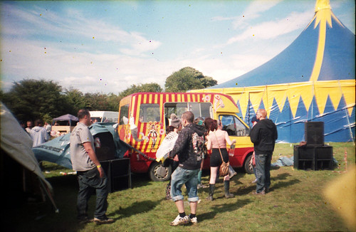 Soundsystem Ice Cream Van