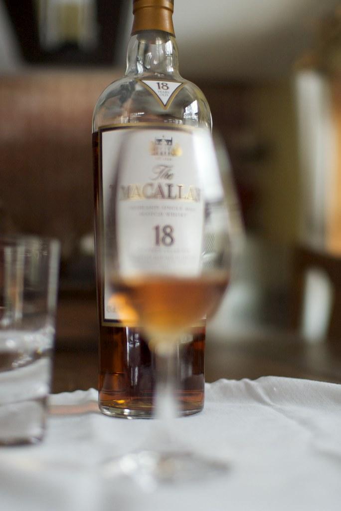 Tasting Macallan 18