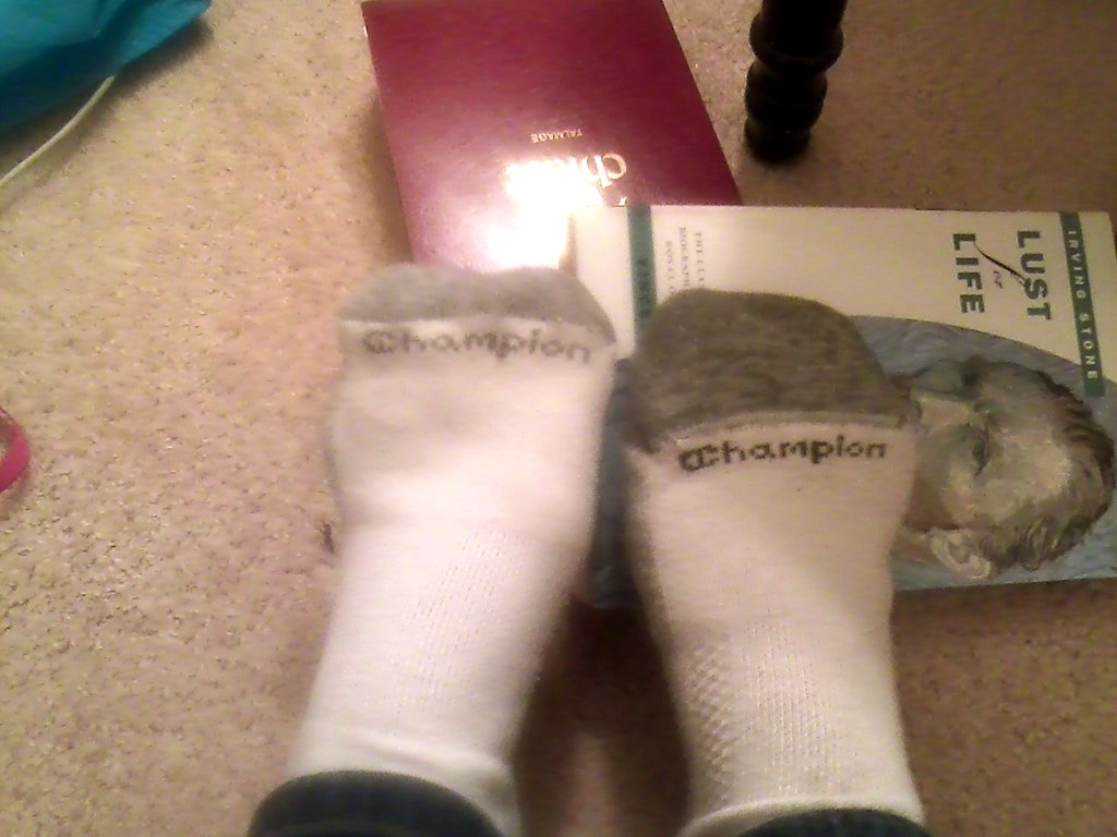 socks+books
