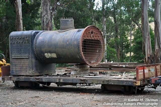 An old boiler