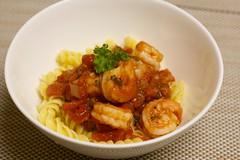Shrimp Niçoise Pasta