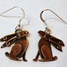 Hare earrings BR