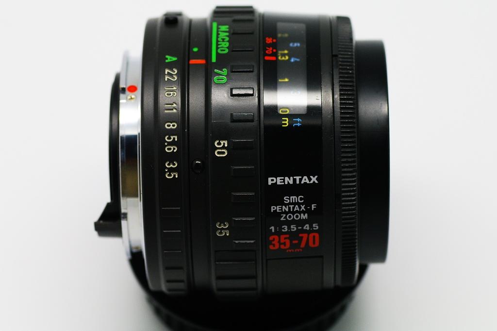 SMC PENTAX-F ZOOM 1:3.5-4.5 35-70 mm
