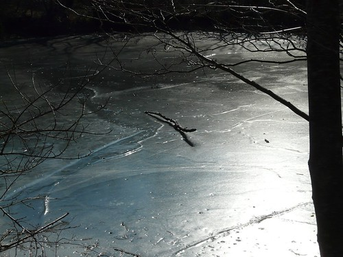 FROZEN LAKES (A haiku)