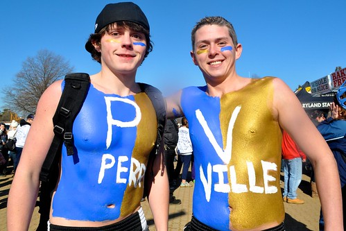 Blue and Gold for Perryville