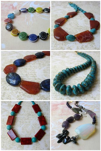 new necklaces by planettreasures