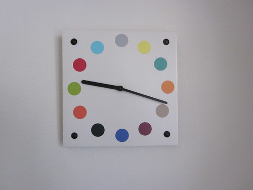 thrifty clock - after