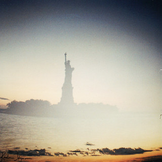 Statue of Liberty - Double exposure - Version 2
