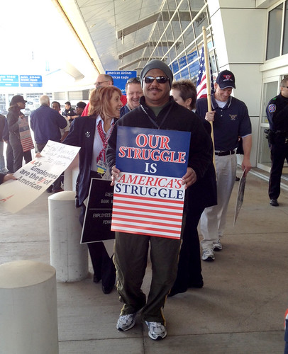 American Airlines Picket_DFW