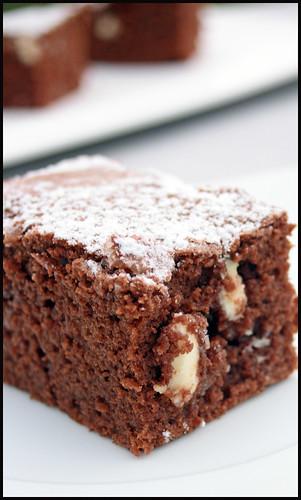 Brownies au chocolat noir